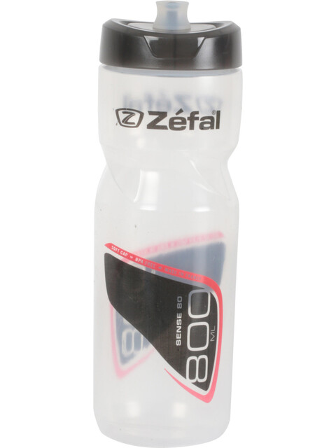 Zefal Sense M80 Drink Bottle 800 ml transparent